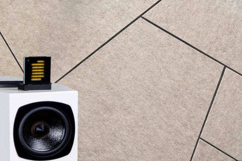 Whisperwool Grid mit eine Lautsprecher von WLM-Audio