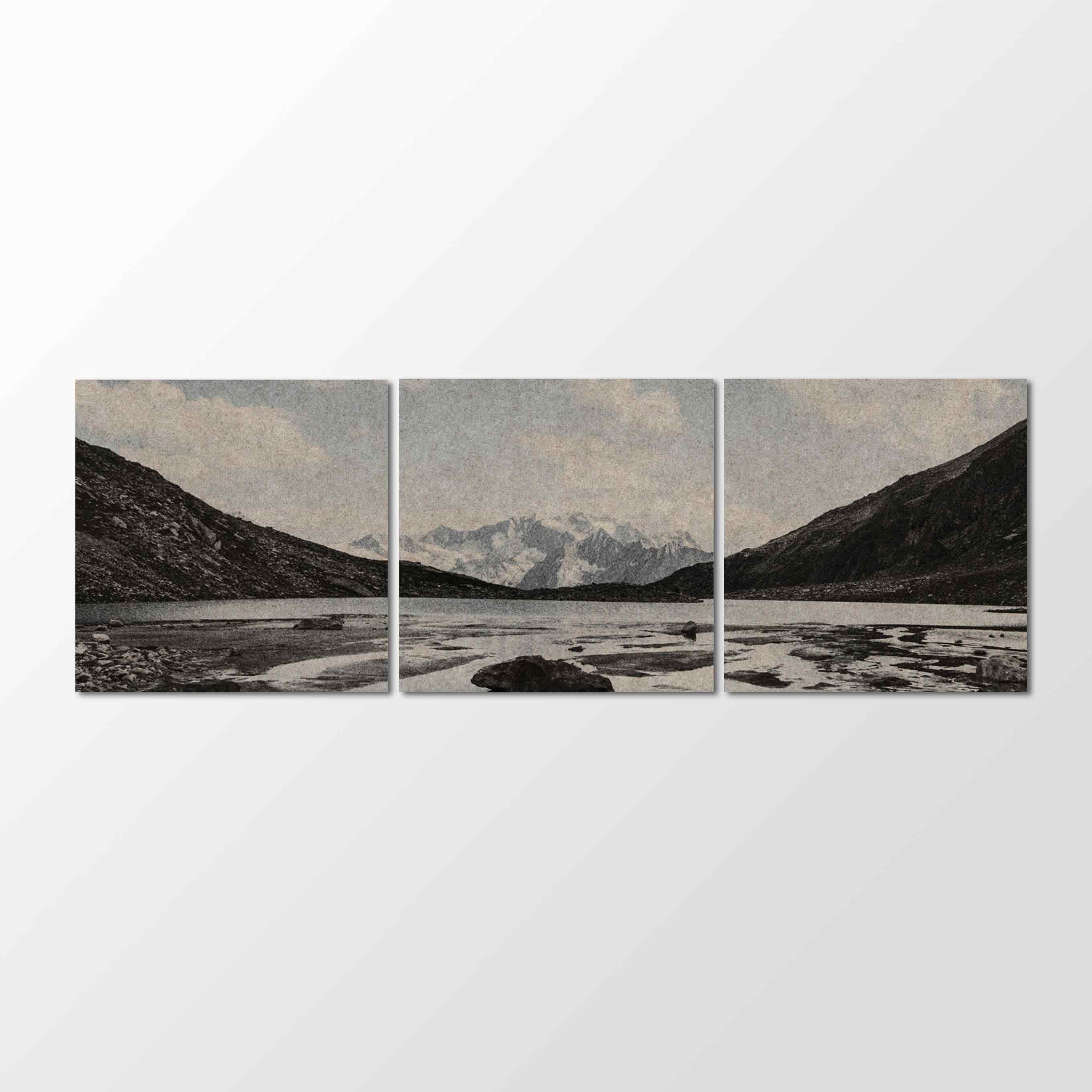 Whisperwool Akustikbild PPHILIPP Zillertaler Alpen Panorama auf 3