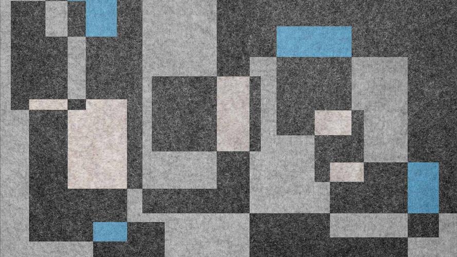 Woolpaper Einlegearbeit Intarsie