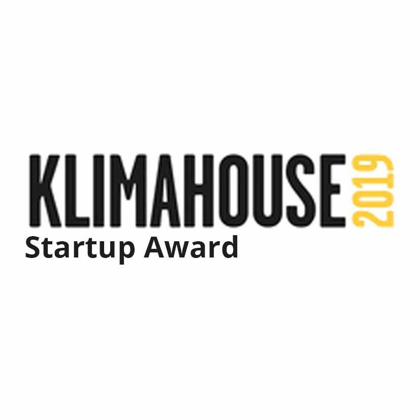 Das Logo für den Klimahouse Startup Award 2019