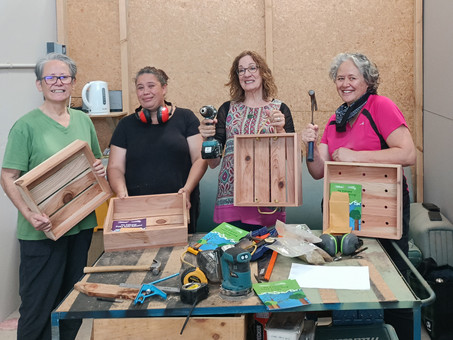 Whāngārei Women's Woodworking Workshop