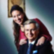 Wolfgang Bosbach CDU mit Tochter Caroline