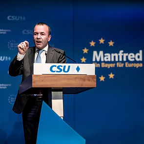 Manfred Weber, CSU Politiker