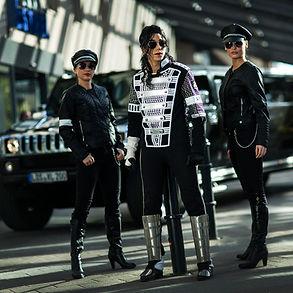 Michael Jackson Stars in Concert Berlin