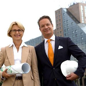 Ute Jacobs und Thomas Brückner, Geschäftsführung Estrel Hotel