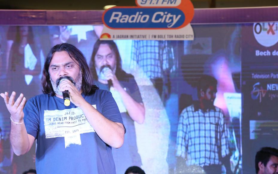 Bhavin Shastri at Radio City