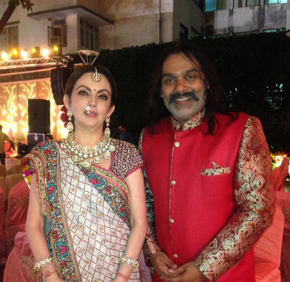 Bhavin Shastri with Nita Ambani