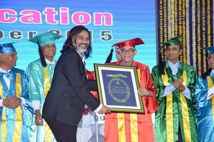 Bhavin Shastri honoured by Giants Welfare Foundation