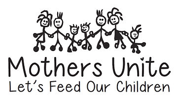 Mothers Unite - Let's feed our children Logo