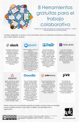 8 Herramientas para el trabajo colaborat