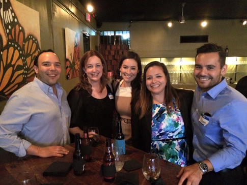 HCYLA Members at the 2015 Election Happy Hour