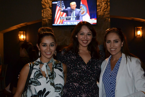 Alyssa Romero, Cassandra Hernandez, and Peyton Kampas De La Garza