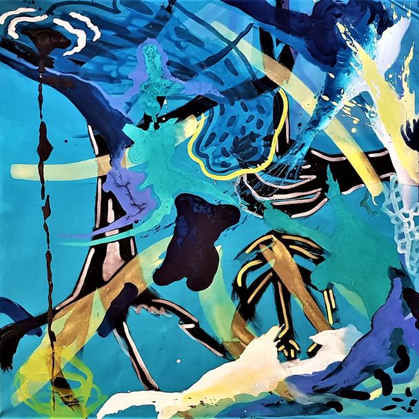 Efrath Bouana, Blue Geometry