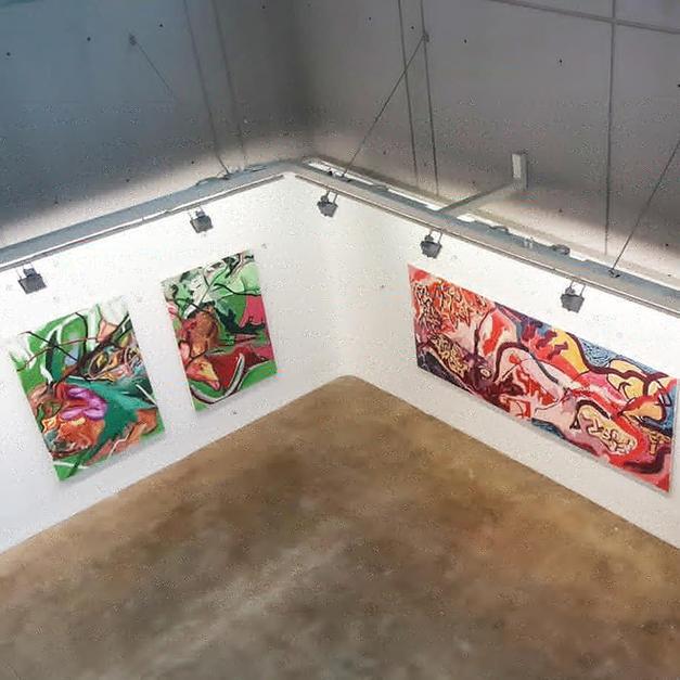 exhibition view Efrath Bouanag