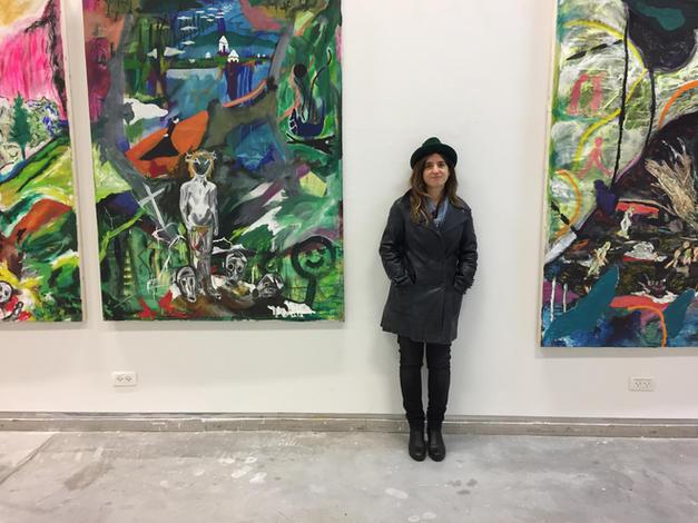 exhibition view Efrath Bouana