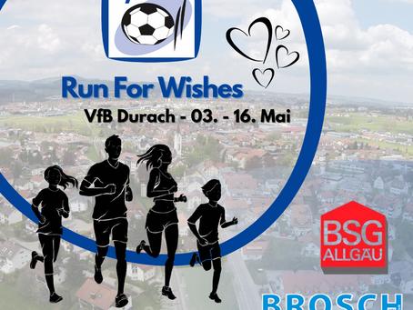 Run For Wishes - Fit halten für den guten Zweck