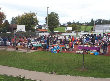 Flohmarkt des VfB wieder ein voller Erfolg