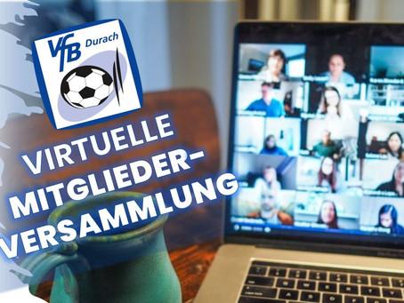 Einladung zur Ersten Virtuellen Mitgliederversammlung