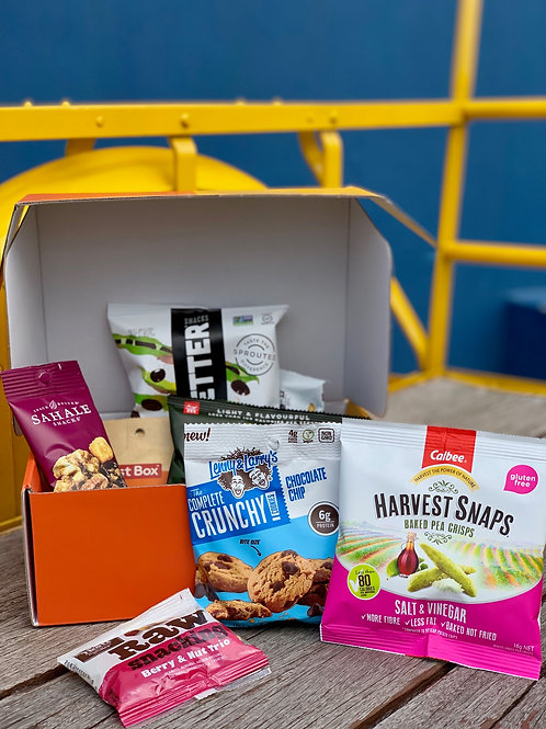 Employee's healthy snacks care pack