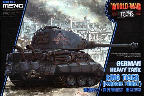 Meng Wwt-003 Model-German King Tiger