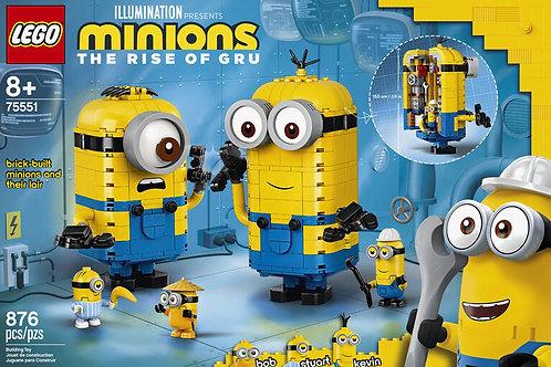 LEGO Minions Brick-built Minions and their Lair