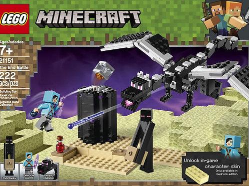 LEGO Minecraft The End Battle