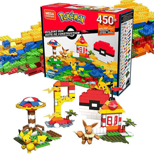 Mega Construx Pokemon Let's Go Building Box
