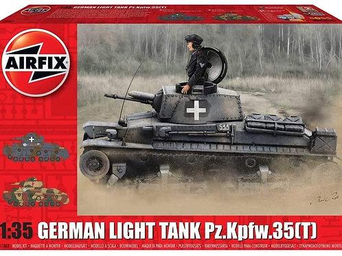 Airfix German Light Tank Pz.Kpfw.35(T) WWII Military Tank Armor Plastic Model