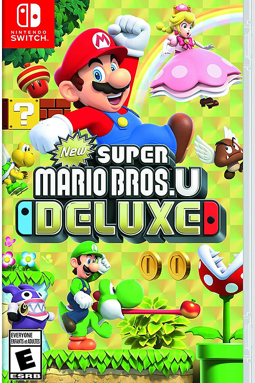 New Super Mario Bros. U Deluxe Switch - Deluxe Edition (Switch game)