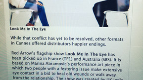 Look Me In The Eye is a hot property at MIPCOM