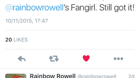 You Are What You Tweet: Emma Straub, Rainbow Rowell and why we should all consider doing a little Sh