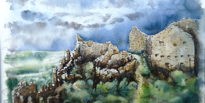 Ruines de Crussol