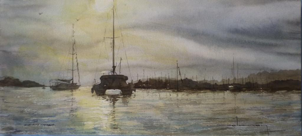 Mouillage à Trogir