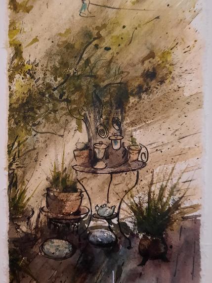 """""""Sur la terrasse d'Anne"""""""
