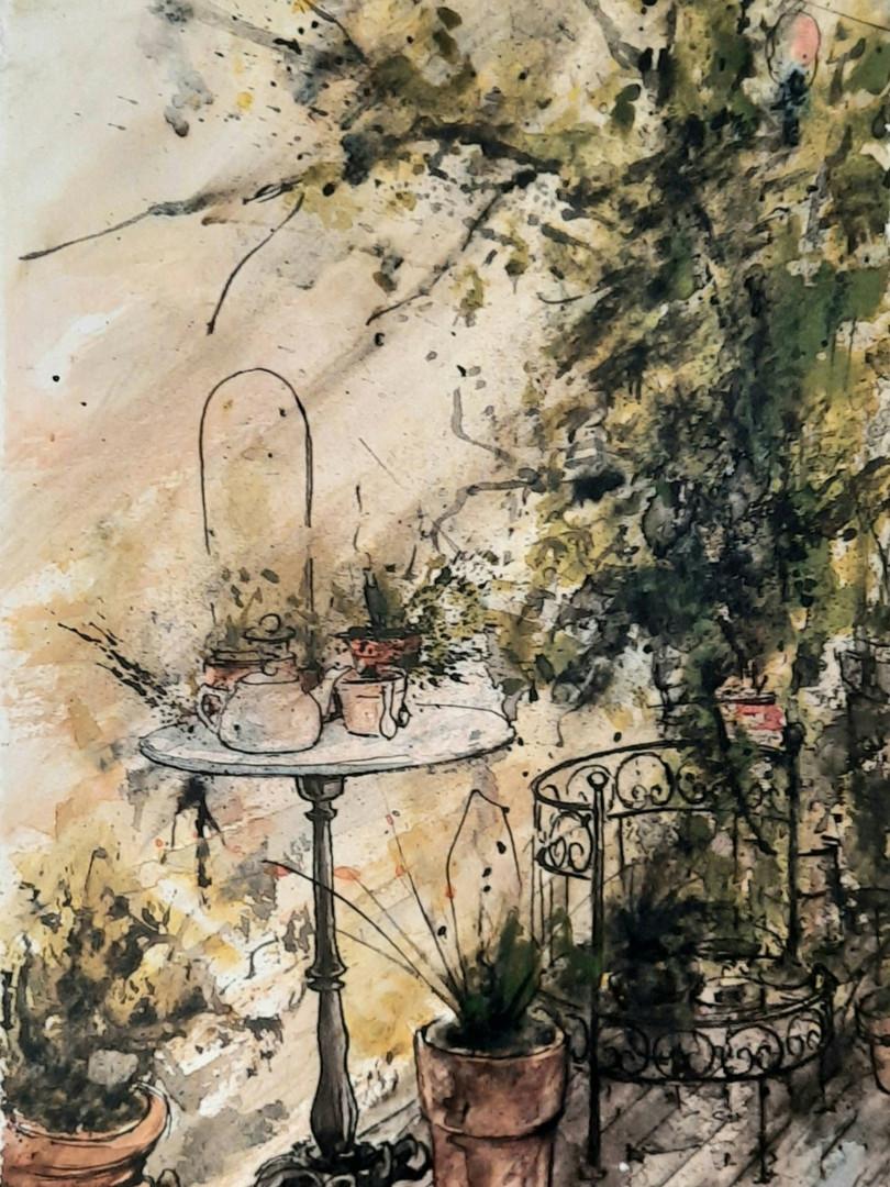 """""""Ombre sur la terrasse"""""""