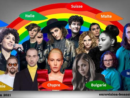 Eurovision 2021 :  J-7