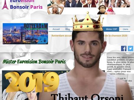 Mister EBP 2019...Thibaut Orsoni !!