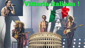 Victoire de l'Italie !