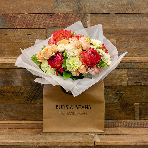 POSY IN A BAG  - Florist's Choice Bouquet