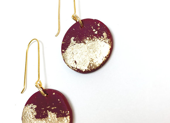 Berry hooks with gold dust