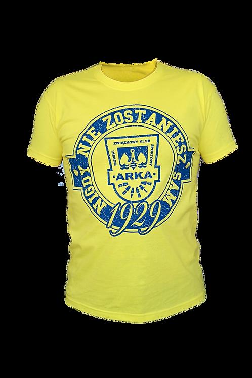 """Koszulka żółta """"NNZS"""""""