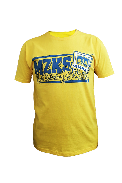 "Koszulka ""MZKS Żółta"""