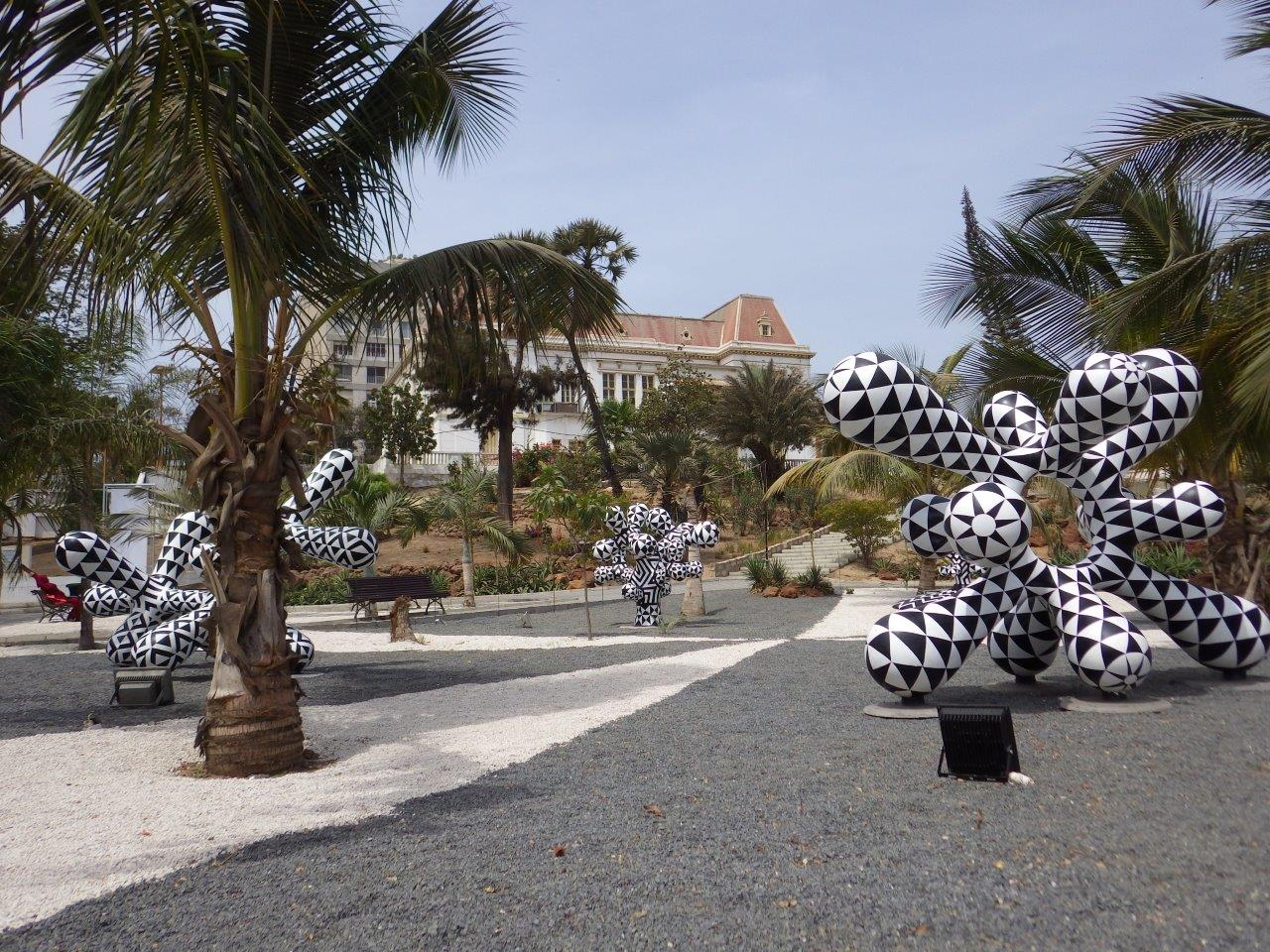 Poetic playground,Dakar city hall