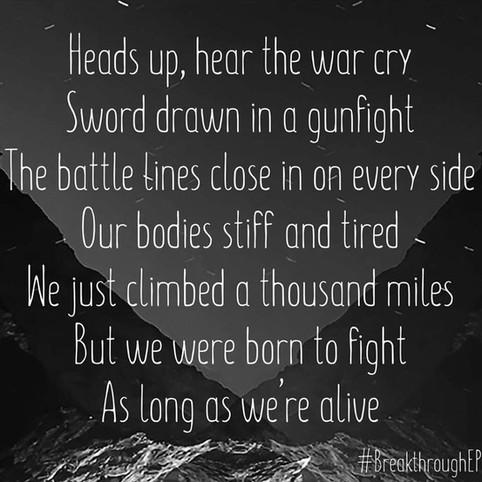 Behind The New Lyrics