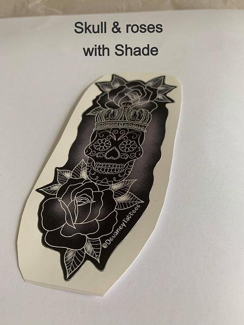 Skull & roses / Shade