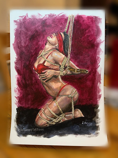 'Seduction' A3 Giclee Print