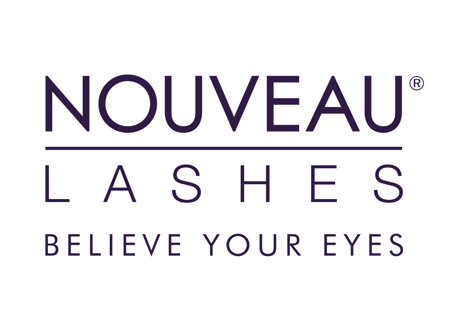 Nouveau Lashes Believe Your Eyes (purple