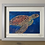 Thumbnail: 'Roaming Turtle' High Quality print on canvas paper