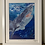 Thumbnail: 'Curious Shark' High Quality print on canvas paper