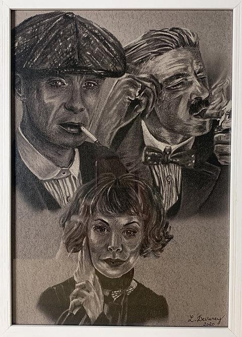 Peaky Blinders fan art A4